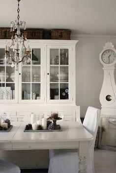 white, vintage chandelier...