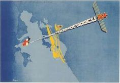 JAT Jugoslovenski aero transport Source:slike Year:1950