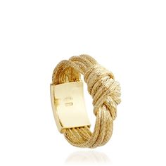 Overhand Knot Ring - Astley Clarke - Over hand knot ring in 18 carat yellow gold