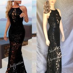 Bridesmaid dress Sequins Prom Dress lace long black cocktail Mother of... ($250) ❤ liked on Polyvore featuring dresses, long formal dresses, lace bridesmaid dresses, long sequin dress, sequin cocktail dresses and long bridesmaid dresses