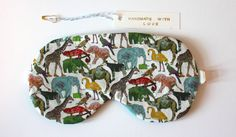 Liberty Print Queue for the Zoo  Cotton and by EarthenWarrior, $50.00