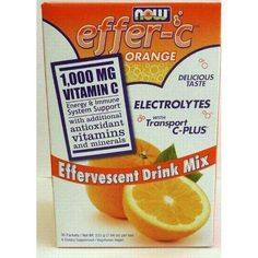 Effer C (Orange Flavor, 30 Pockets) for more energy