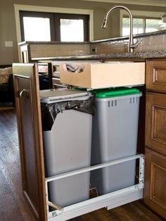13 best trash disposal bins cabinets images trash disposal rh pinterest com