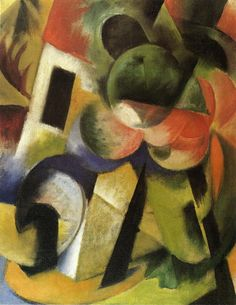 Small Composition II - Franz Marc - WikiArt.org