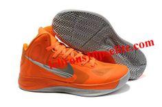 new product 15f15 42837 Nike Zoom Hyperfuse 2012 Orange Gray