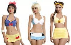 Hot Topic Ads More Swimsuits For Disney Ladies