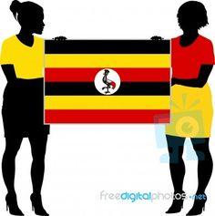 Uganda Flag, Html