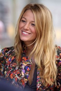 Blake Lively - this girl is too beautiful. And don't get me started on her hair