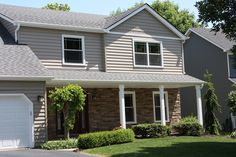 vinyl siding with stone home photos | Vinyl Siding Replacement & Versetta Stone - Hollingsworth Home ...
