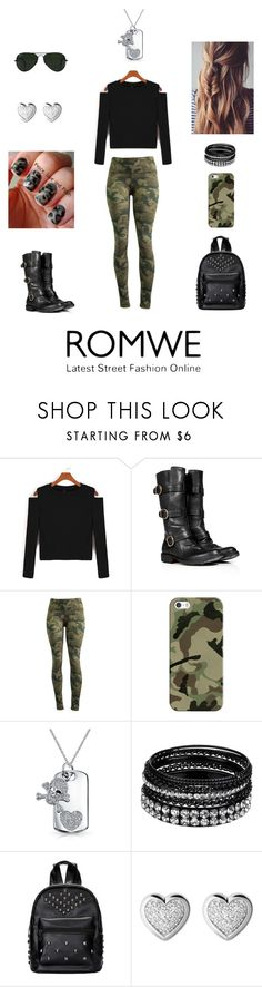 """ROMWE-Contest Entry"" by hopesparksembers ❤ liked on Polyvore featuring Fiorentini + Baker, 90 Degree by Reflex, Casetify, Bling Jewelry, Links of London and Ray-Ban"