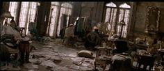 GREAT EXPECTATIONS, Dir. Alfonso Cuarón, 1998. Susan Bode, set decor
