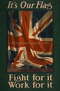British World War 2 Propaganda Poster