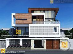 Bungalow House Design, House Front Design, Modern House Design, Villa Design, Facade Design, Modern Architecture House, Architecture Design, Modern Bungalow Exterior, Latest House Designs