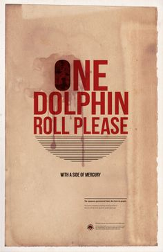 Advocacy Poster: Save Japan Dolphins on Behance