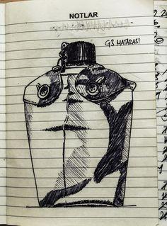 G3 Matarası       Tükenmez kalem Darth Vader, Sketches, Fictional Characters, Drawings, Doodles, Fantasy Characters, Sketch, Tekenen, Sketching