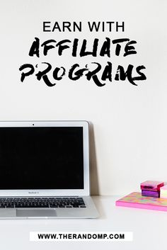 Learn to earn with affiliate programs and use them for your business needs! therandomp.com/blog/grow-your-bank-with-affiliate-programs-blogging
