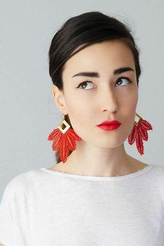 Modeschmuck Ohrringe nach der Gesichtsform aussuchen