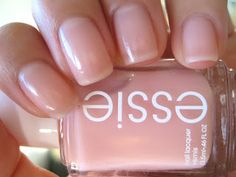 Essie Sugar Daddy - the prettiest barely there sheer color. My all time favorite color by Essie!