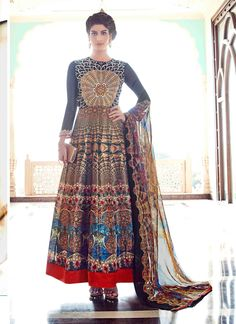 Buy Sensible Banglori Silk Anarkali Salwar Kameez, Online #anarkalisuits #anarkalifashion #anarkali #gorgeous
