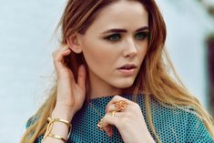 Kristina Bazan wears stunning pieces from the Piaget Rose and Possession collections.