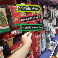 Not sure which way to go this Christmas?  Find your way at your nearest Party Stuff store!