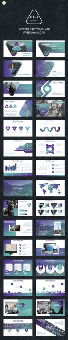 Free Powerpoint Templates 2018 with Morph Transition Animation. Ready 30 Slides