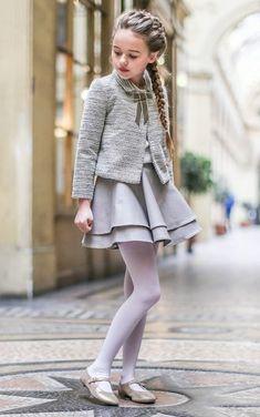 Moda elegante para niñas de Petite Bergamote