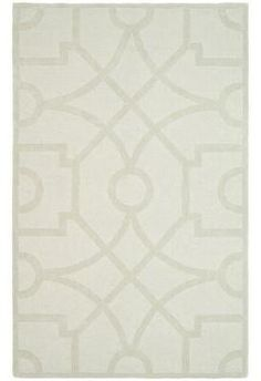 Martha Stewart Living Fretwork Buckwheat 8 Ft. x 10 Ft. Wool Area Rug Sold Out thestylecure.com