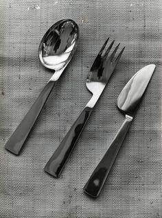 Gio Ponti; Flatware for Krupp Italiana, 1951.