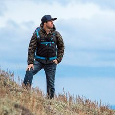 Guide Chris Coulter's #EBCustom MicroTherm jacket out for its debut adventure.
