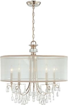 Crystorama Hampton Collection - Brand Lighting Discount Lighting - Call Brand Lighting Sales 800-585-1285 to ask for your best price 5625-AB CHHampton