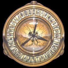 The Alethiometer - His Dark Materials - Philip Pullman Anne Marie Duff, Ruth Wilson, Lyra Belacqua, His Dark Materials Trilogy, His Dark Materials Daemon, Fandoms, Compass Tattoo, Book Lovers, Fan Art