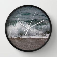 Waves Wall Clock by Lynn Bolt - $30.00