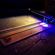Picture of 3W 4'x4' Arduino Laser Cutter/Engraver