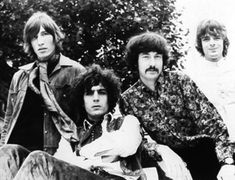 1967 Dec 20th, Pink Floyd at the Radiophonic Workshop, Maida Vale, London - by Chris Walter