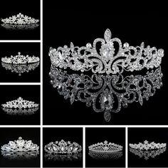 2016 エレガント な ウェディング ブライダル ティ アラ クラウン帽子ライン ストーン パール ウェディング ヘア アクセサリー花嫁パール ジュエリー用女性女の子