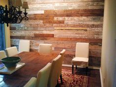 reclaimed wood walls from old texas wood
