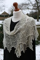 Ravelry: Snow Angel pattern by Boo Knits (Lace weight)
