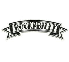 Ecusson-Patch-ROCKABILLY-ROCK-A-BILLY-RocknRoll-Rockers-SUN-Tattoo-Teddy-Boy