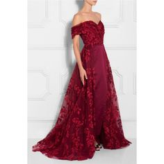 RAZAN ALAZZOUNI (€3.895) found on Polyvore featuring women's fashion and gown
