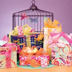 Fresh and fun gift wrap from The Gift Wrap Company.ED 2014 Collection