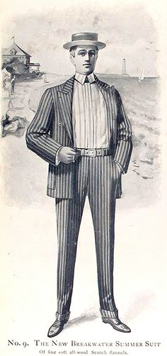 1900. Kuppenheimer Men's Clothing
