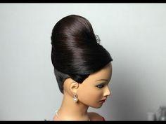 ▶ Вечерняя прическа на длинные волосы. Hairstyle for long hair tutorial - YouTube