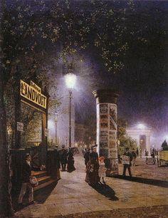 Carl Saltzmann - The first electric street lighting in Berlin