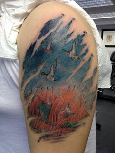 1000 images about tats i like on pinterest deer hunting for Duck hunting tattoo