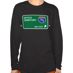 Optics Next Exit T Shirt, Hoodie Sweatshirt