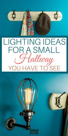 Here are some hallway ideas for you. Improve your hallway lighting with these products. Check our hallway lights and take your home decor to a whole new level. Hall Lighting, Stair Lighting, Unique Lighting, Wall Sconce Lighting, Wall Sconces, Lighting Ideas, Urban Cottage Industries, Small Hallways, Hallway Ideas