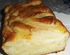 Budín de pera Pudding, Tea Time, French Toast, Clean Eating, Healthy Recipes, Healthy Food, Food And Drink, Diet, Snacks