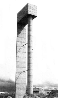 Visions of an Industrial Age // Water tower, University of Aveiro, Portugal Architect: Alvaro Siza 1989