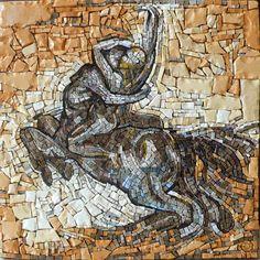 Centaur after Rodin – by Gary Drostle